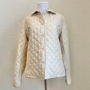 Ralph Lauren Quilted Jacket Coat Padding Cream